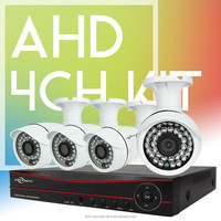 Vitevison security camera system with 1mp 1.3mp AHD camera H.264 4ch AHD DVR Kit