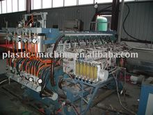 PP PE Hollow profile sheet extrusion line plastic machine