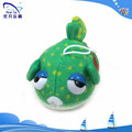 plush keychain/plush animal big eyes/cute colorful kids fish toys