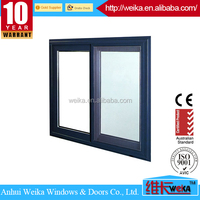 2015 New design WEIKA aluminum sliding window and General Cheap Aluminum Windows