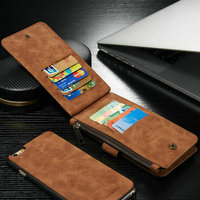 Hot Sell Various Color luxury wallet Case Cover For iphone 6 plus/ iphone 6s Plus With 14 business card slots cases
