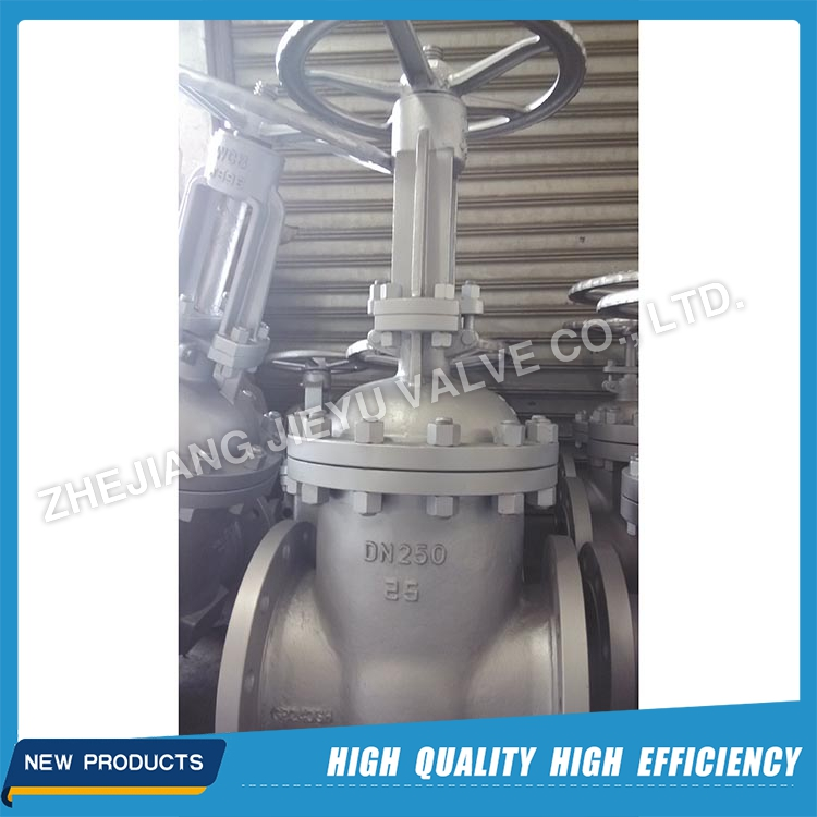 DN250 Carbon Steel DIN Flanged Gate Valve PN25 With OEM Service