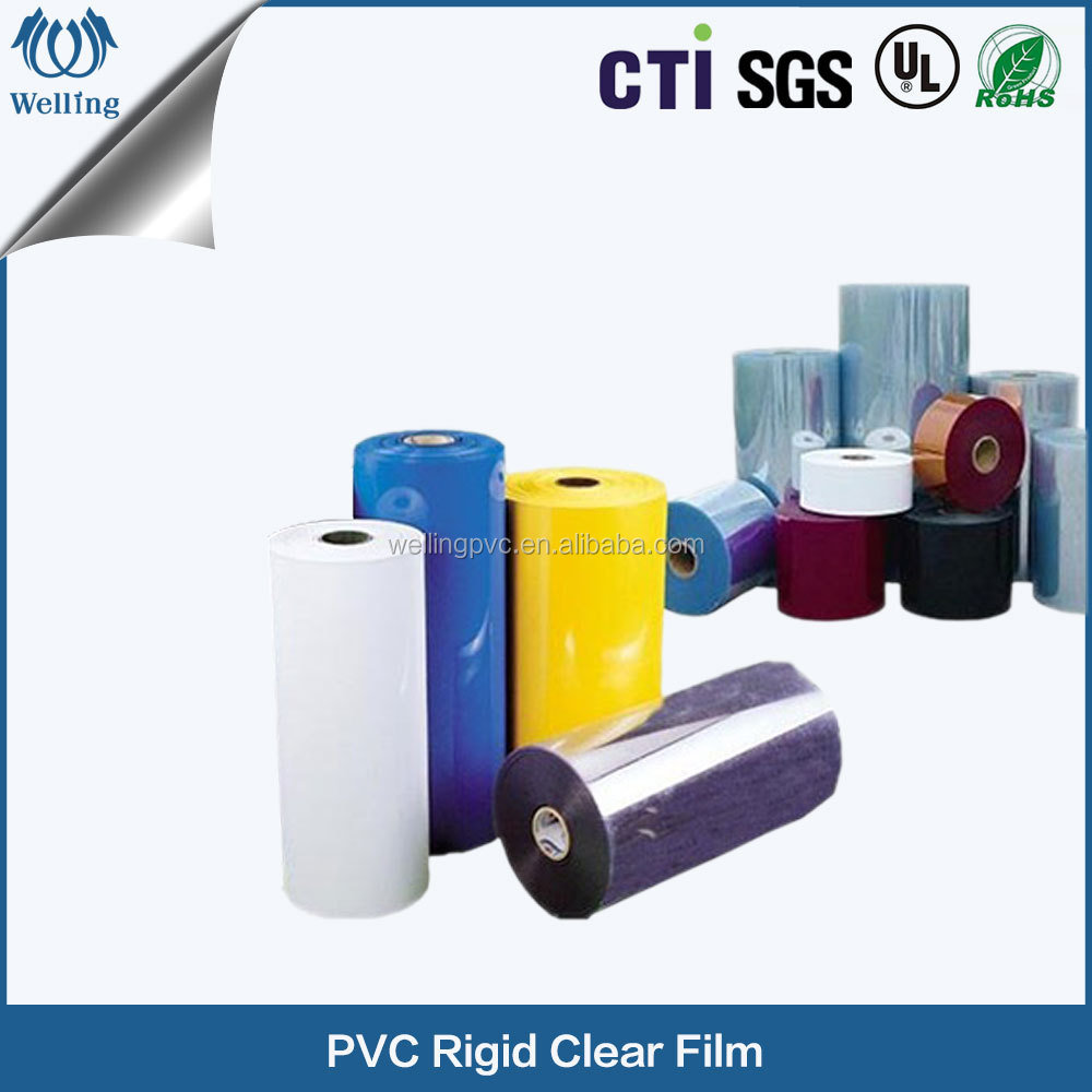 High Quality Clear Glossy Plastic PVC Sheet Rolls For Vacuum Forming