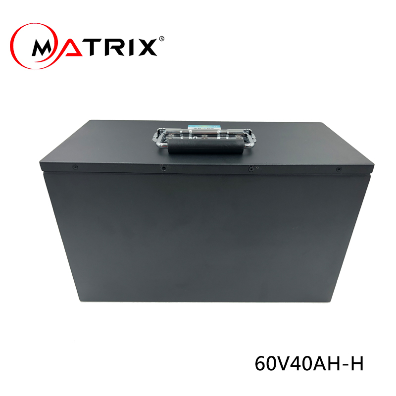 Matrix  standard lithium ion battery 60v 40ah li ion battery pack for electric scooter electric bike rickshaw golf cart