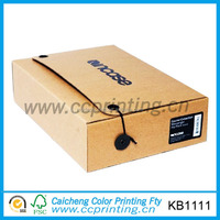 High quality folding corrugated wedding dress shipping box