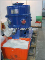 Plastic film compressing pelletizer
