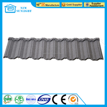 China manufacturer for shop wholesaler stone coated metal roofing sheet colored coated roof tile