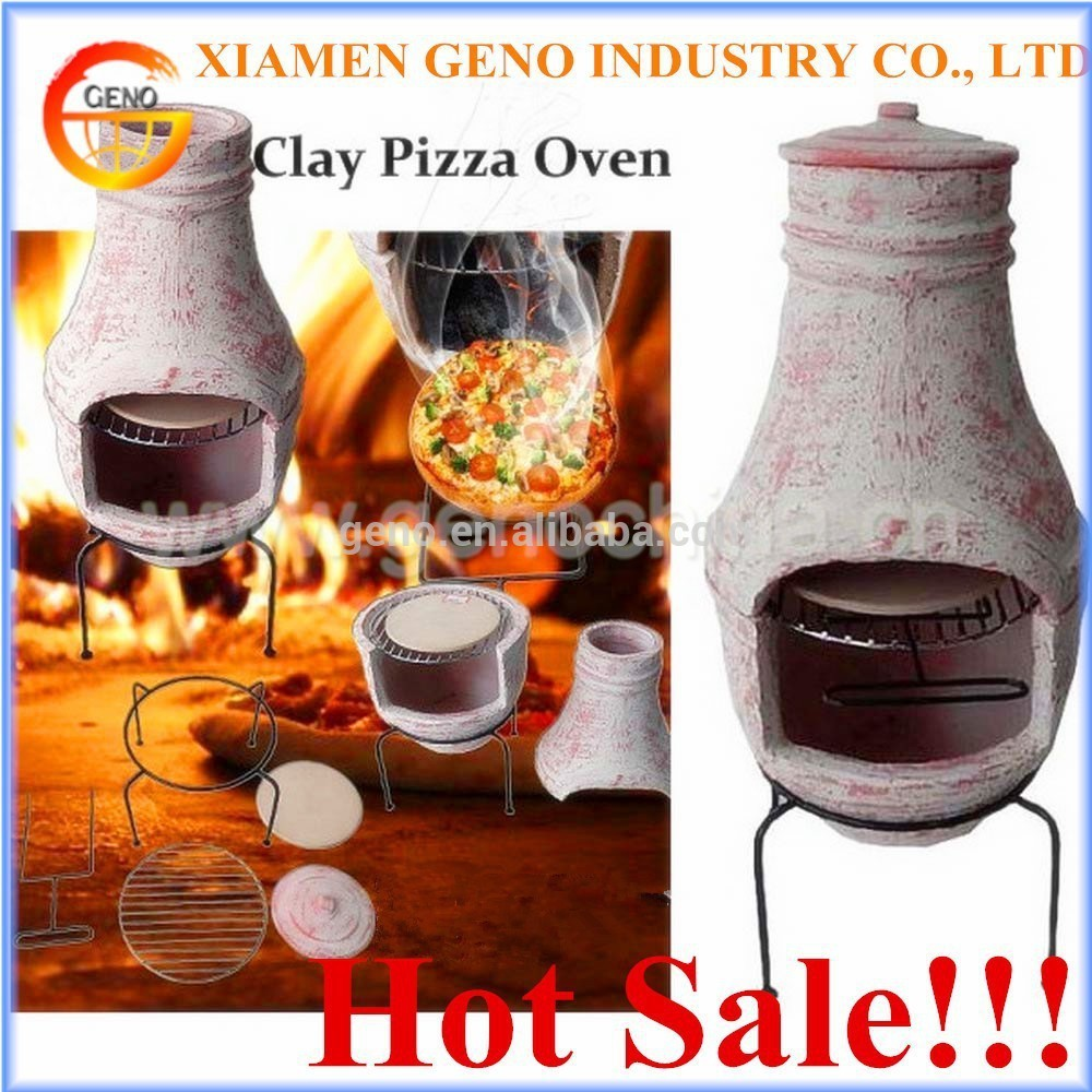 outdoor ceramic wood fired pizza oven for garden decor