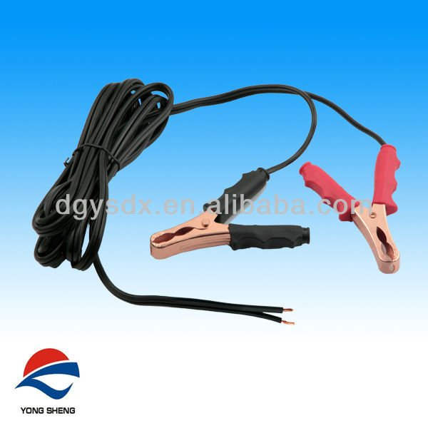 new style alligator clip with SPT-2 18AWG cable