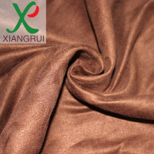 printed knitting suede fabric cheap Sales promotion for garments and home textiles