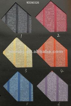 Jacquard polyester fabric for ties