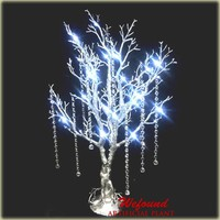 WEFOUND 85cm/33'' tall led lighted manzanita tree wedding party centerpieces decorations
