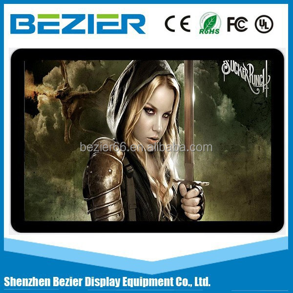 46 inch Android wall mounted ultra slim lcd tv