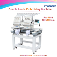 Fuwei double heads computerized embroidery machine as barudan embroidery machine japan