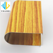 Foshan Innovative building material low cost Aluminium tube profiles Suspended Strip baffle ceiling