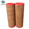 teflon mesh conveyor belt safe for food 4*4mm brown color