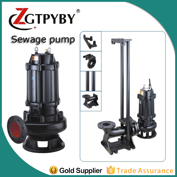 non-clog 30hp submersible sewage pump pumps for mining