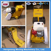 walk behind floor road used cutting saw machine concrete cutter with famous brand gasoline engine
