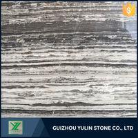 Elegant marble slabs grain wood tiles