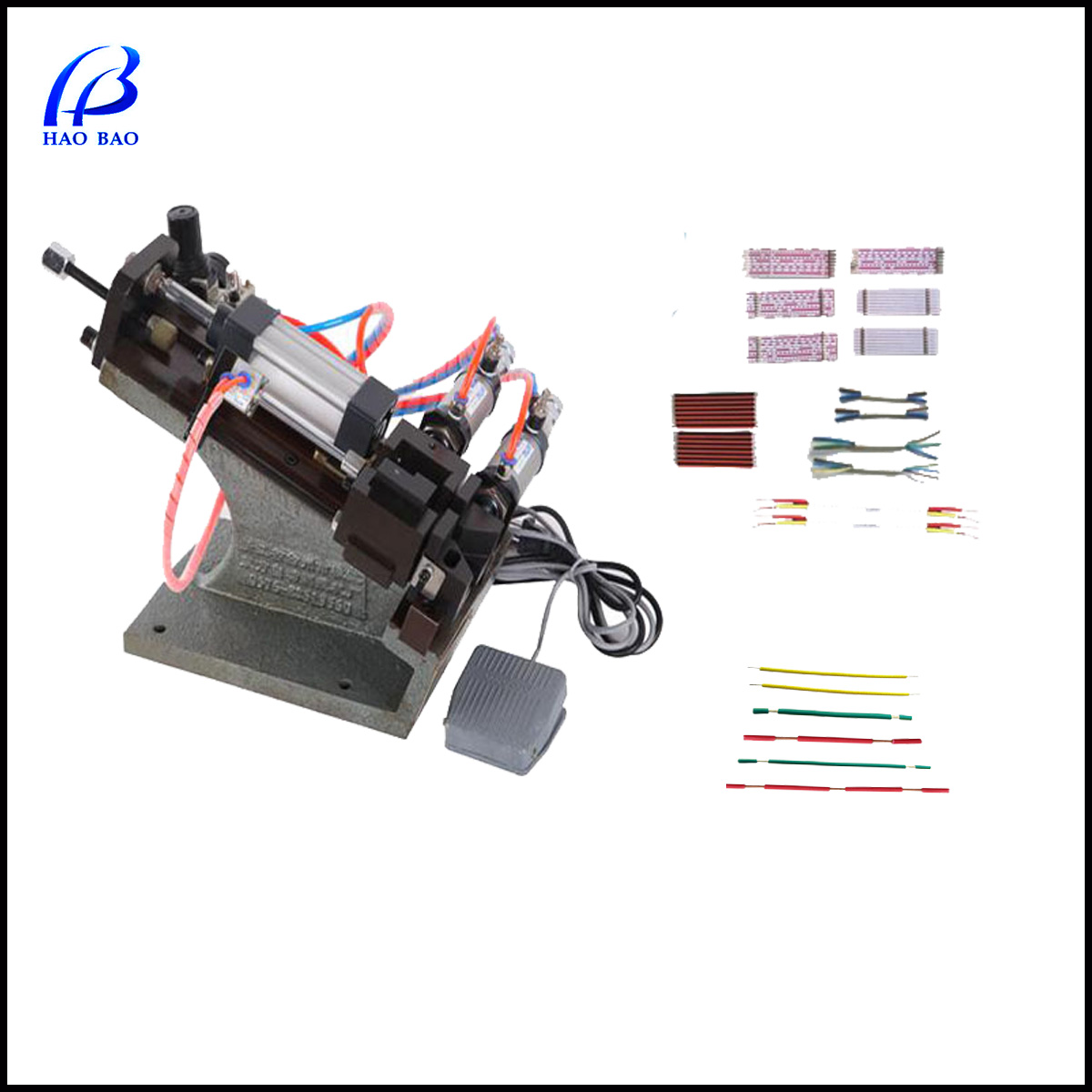 HW-A305 flat cable Cutting Machines Cable Stripping Machine Stripping Diameter: 1-9mm Cable Making Equipment for Phone Wire