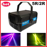 ( WSCN-06) new sniper 5r or 2r laser beam scanner rotating stage effect light