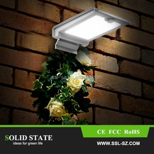 Top seller IP65 high power 46 led solar outdoor lamp with sensor motion