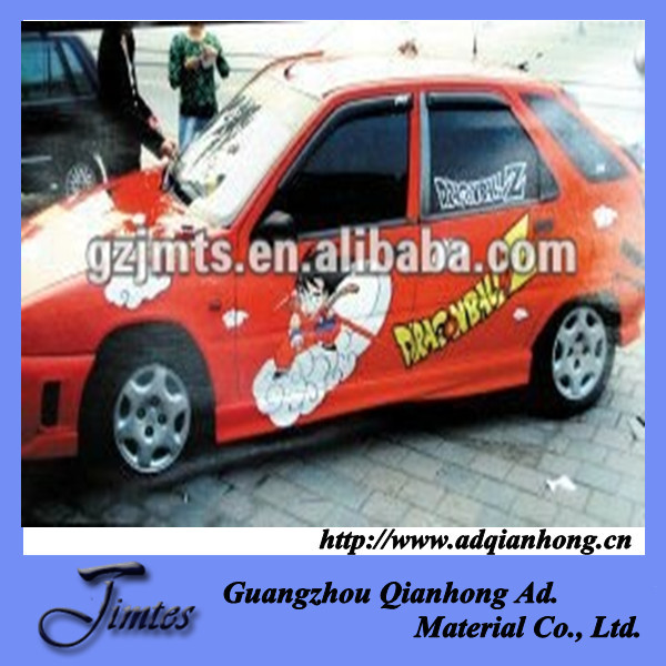vinyl outdoor sticker paper for vehicle decoration