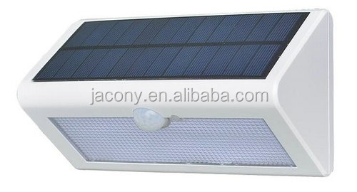 solar powered wireless security motion sensor lamp (JL-3512)