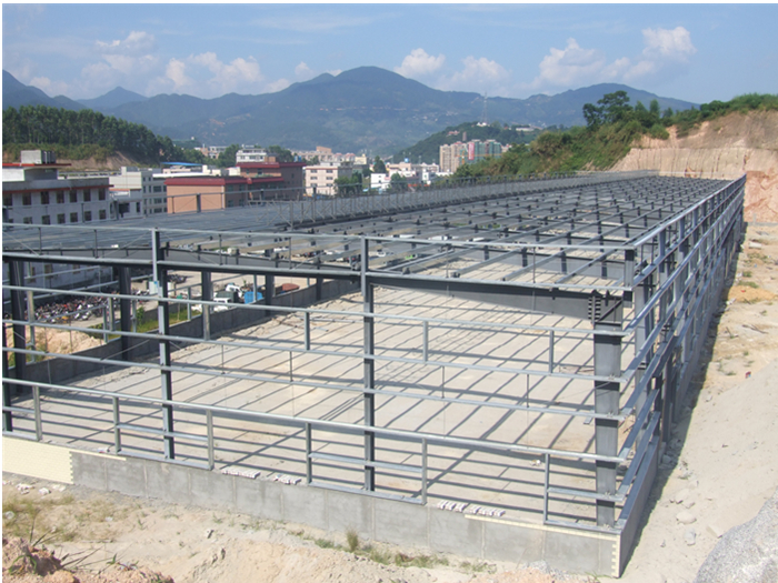 design stable structural steel space frame structure warehouse