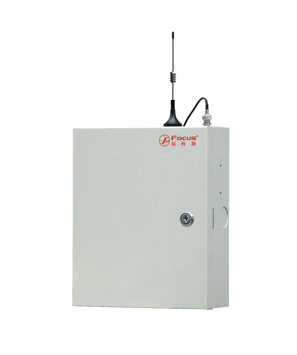 Wired industrial use TCP/IP GSM dual network home burglar alarm system FC-7540 with 433/868MHz