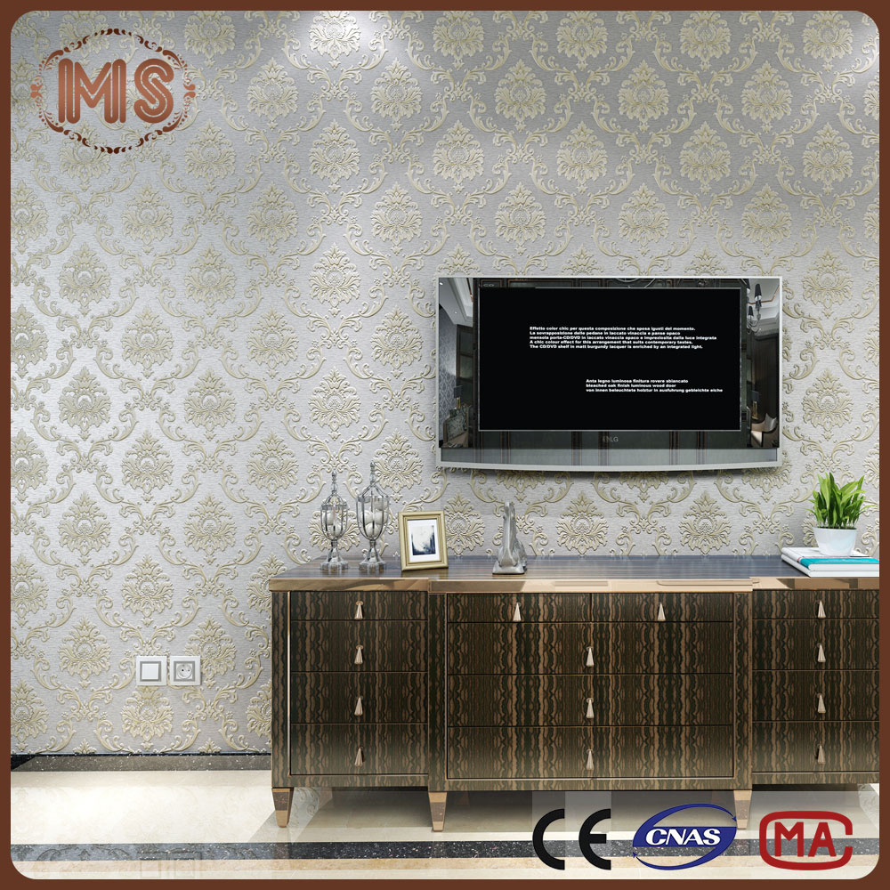2016 new pvc wallpaper/designer wallpaper/wall paper