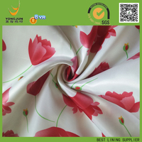 POLYESTER SATIN TULIP PRINT LATEST DESIGN FOR NIGHT DRESS