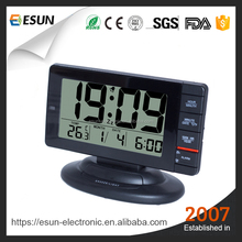 Chinese manufacturer Digital Desk Table Snooze Alarm Clock Desktop LED Calendar Clock with Thermometer