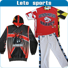 custom sublimation baseball jerseys/fast pitch baseball uniform