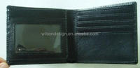 handmade oem leather wallet case for cellphone