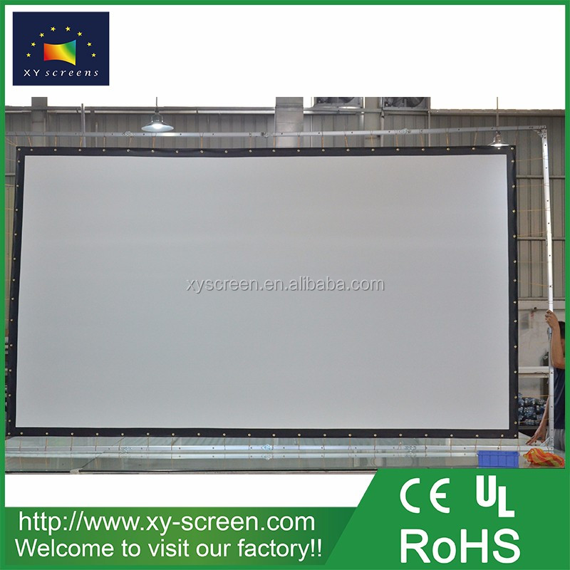 200 inch home theater simple projector screen for 10000 lumens projector