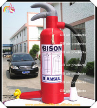 Hot Sale inflatable fire extinguisher for advertising,inflatable promotional advertising fire extinguisher model for sale