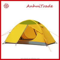 Single Person Double Layer Aluminum pole outdoor tent