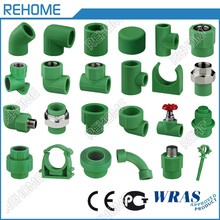 Hot and cold drinking water supply din standard ppr pipe fittings