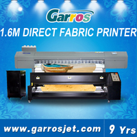 Garros factory price 4 colors sublimation ink inkjet printer textile fusing and sublimating machine