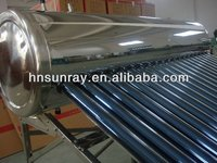 hot selling sunray solar water heater