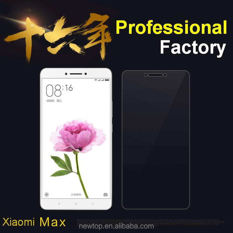 Fast delivery for xiaomi max tempered glass screen protector, tempered glass for mobile phone