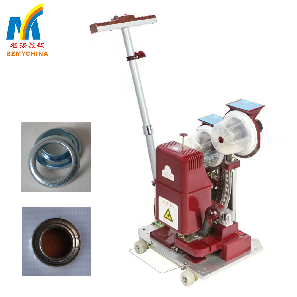Fast Speed 12mm Semi Automatic Eyelet Punching Machine