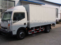 2.5tons new box trucks for south africa/dry box truck/light box truck