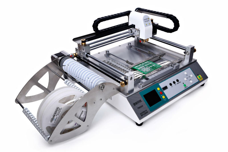 *desktop pcb pick and place machine TM240A,neoden tech SMT led soldering machine