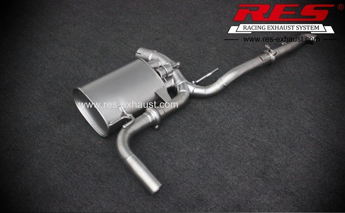 Best price for gr2 titanium tail section exhaust pipe for Benz GL350 GL550 2013 year
