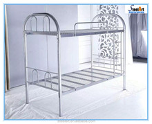 Cheap price double decker metal up down bed