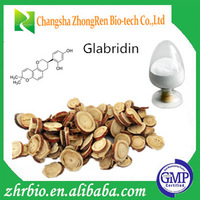 High purity Licorice root extract Glabridin, Glycyrrhizic acid, Licochalcone A, Neoisoliquiritin