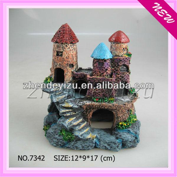 acuario castillo adornos