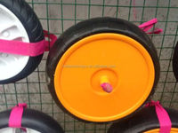 Pneumatic barrow wheels 8 inch inflatable wheel 4 inch foam tire